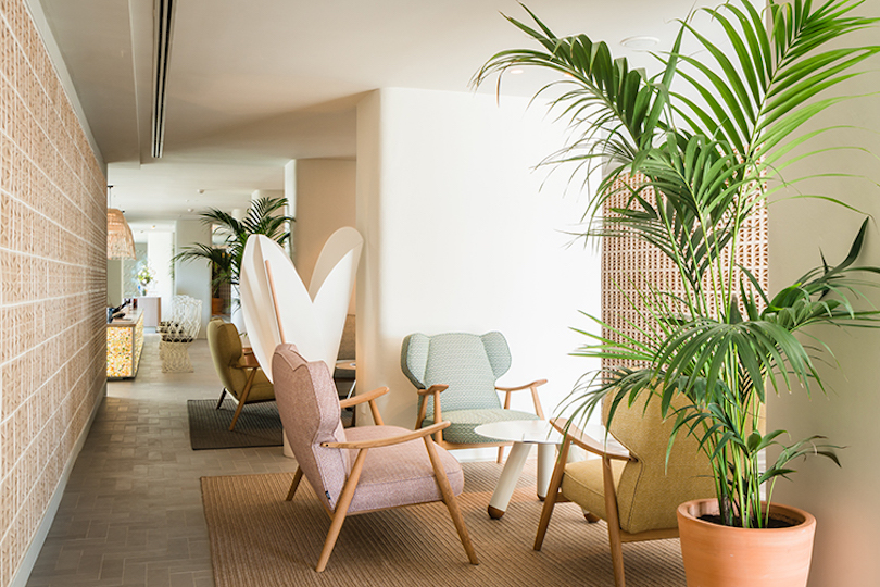 Lagranja design revives the 1930s hotel terramar w t mag for 1930s hotel decor